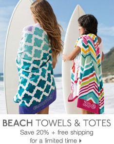 Beach Towels &amp; Totes