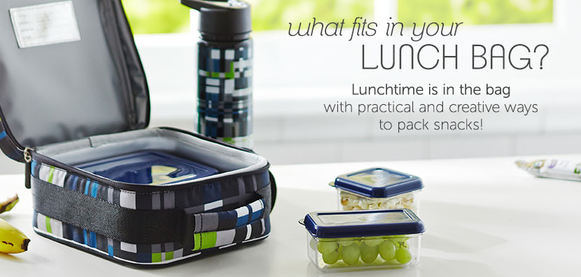What fits in your lunch bag?