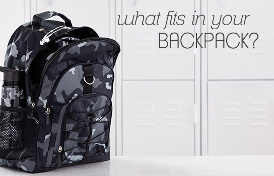 what fits in your backpack?
