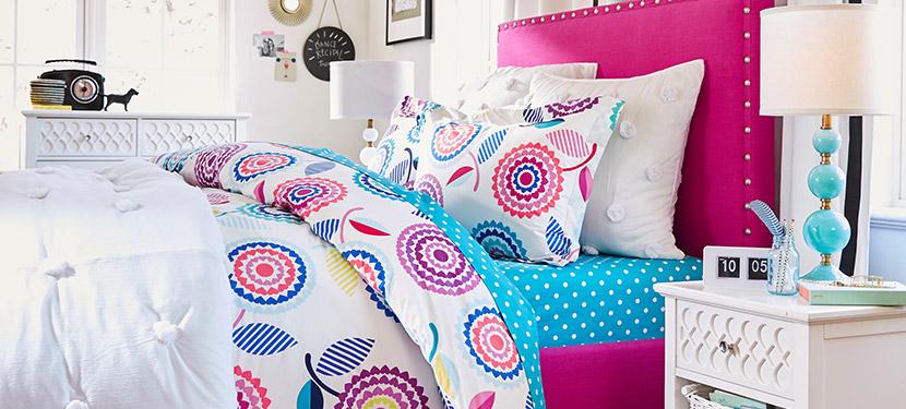 Girls bedroom furniture girls room ideas pbteen for High school bedroom designs
