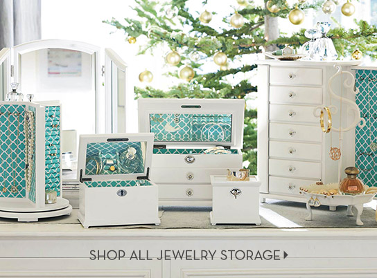 Jewelry + Beauty Storage