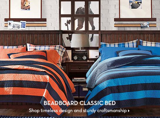 Beadboard Classic Bed