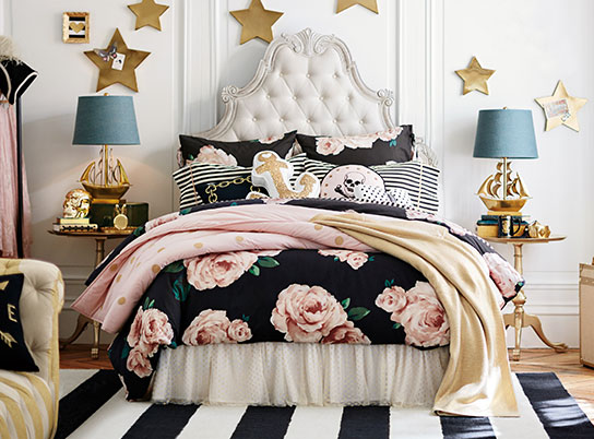 Emily Amp Meritt Parisian Bed Of Roses Bedroom Pbteen