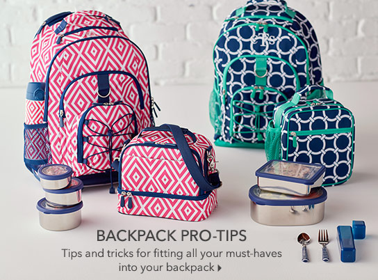Backpack Pro-Tips
