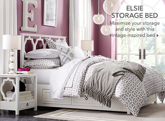 Elsie Storage Bed