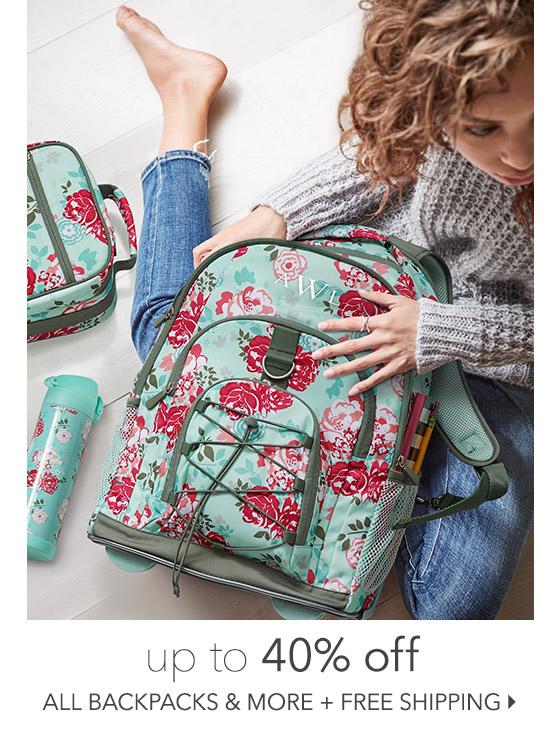 Backpacks + More