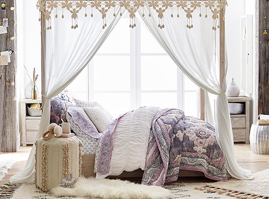 Bohemian Wonder Costa Canopy Bedroom Pbteen