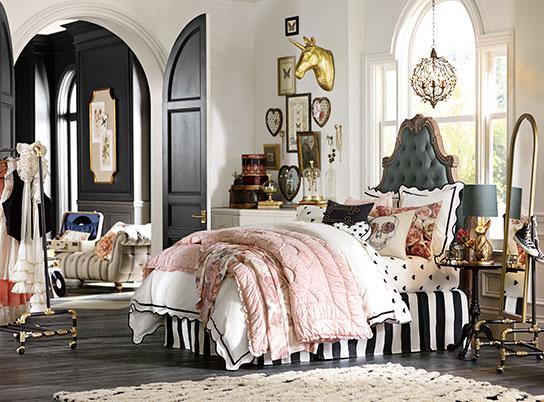 Emily Meritt Parisian Bedroom Pbteen