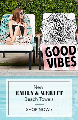 EM Beach Towels