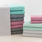 Mini Dot Sheet Set, XL Twin, Dark Mint
