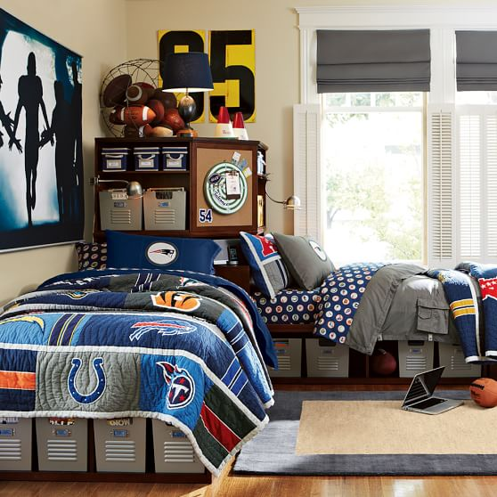 rush the field wall mural pbteen. Black Bedroom Furniture Sets. Home Design Ideas