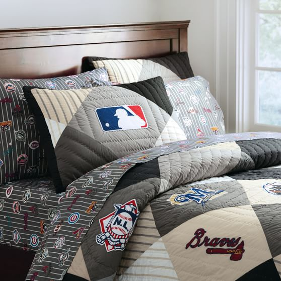 2012 Mlb National League Quilt Sham Pbteen