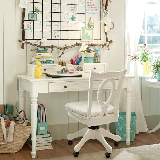 chelsea classic desk hutch pbteen