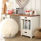 Chatham Medium Desk Hutch, Antique White