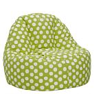 Personalized Painted Dot Leanback Lounger, Single, Mint