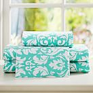 Damask Sheet Set, Twin/Twin XL, Pool