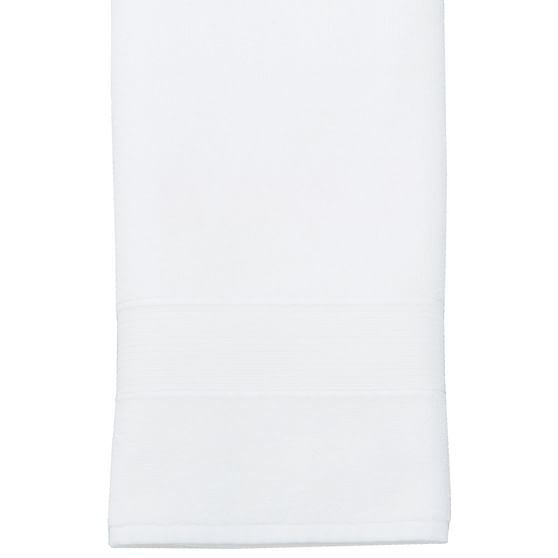 Greek PBdorm Basic Washcloth, White
