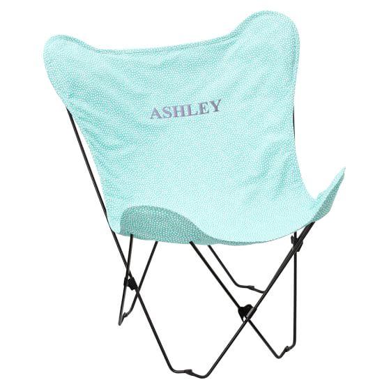 Mini Dot Pool Butterfly Chair Slipcover