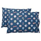 MLB Pillowcases, Standard, Set of 2, American League