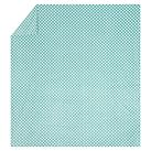 Dots-A-Lot Chamois Duvet, Twin, Pool