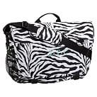 Gear Up Messenger Bag, Zebra Black