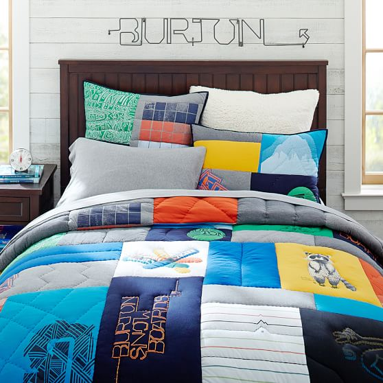 Burton Boys Tee Quilt, Twin