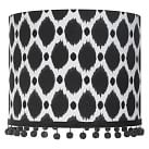 Ikat Dot Shade, Black