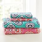 Petal Medallion Sheet Set, Twin/XL, Multi Warm