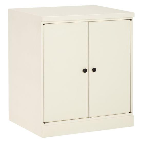 Paramount 2-Door Cabinet, Antique White