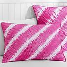 Tahiti Tie Dye Quilt, Standard Sham, Pink Magenta