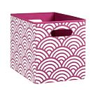 Mix n Match Bin, Medium, Pink Scallop