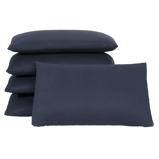 Stuff-Your-Stuff Cushions, Navy