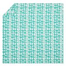 Flower Chain Duvet Cover, Twin, Pool