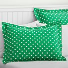 Dottie Duvet Standard Sham, Kelly Green