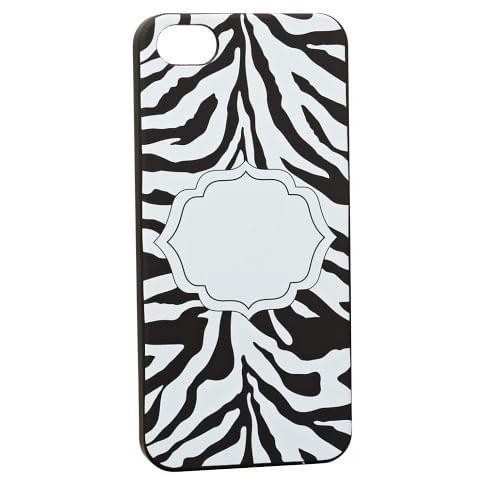 iPhone 5 Case, Zebra, Black