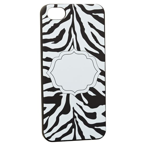 iPhone 5 Case, Zebra, Black