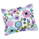 Abby Floral Standard Sham, Purple Multi