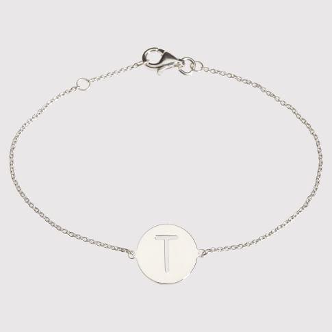 Sarah Chloe Cut-Out Bracelet, Silver