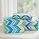 Newport Wave Sheet Set, Twin/Twin XL, Cool