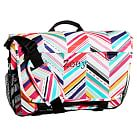 Gear-Up Diagonal Stripe Messenger Bag
