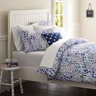 Cheetah Duvet Cover, Blue Multi, Twin