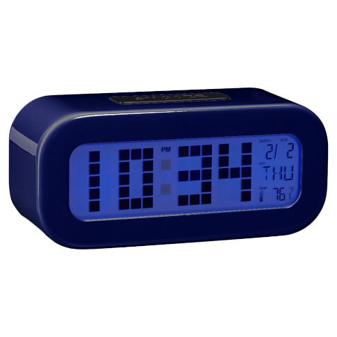 Rise and Shine Alarm Clock, Navy