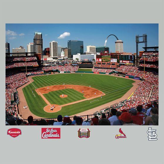 St. Louis Cardinals Busch Stadium Mural Fathead
