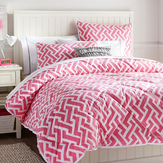 Links A Lot Comforter, Twin, Bright Pink