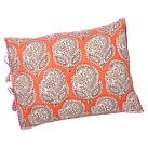 Authentic Blockprint Sham, Standard, Paisley