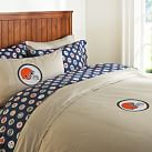 Cleveland Browns Duvet Cover, Twin, Orange