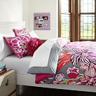 Jolie Duvet Cover, Twin, Pink Multi