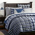 Uptown Patchwork Quilt + Sham, Twin, Grey