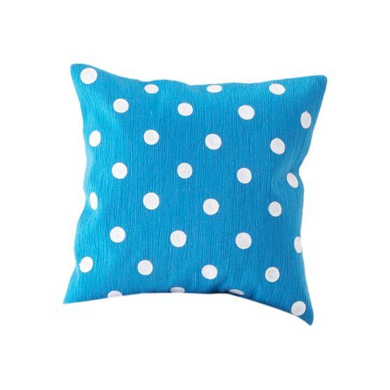 Dottie Pillow Cover, Blue, 16x16