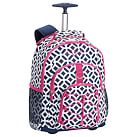 Gear-Up Navy Peyton Rolling Backpack